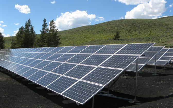 Solar Panel Array Power Sun Electricity 159397
