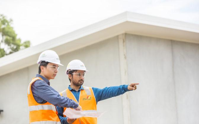 James Kambey Engineer  Nafis Khan Engineer Emerald Hills Pump Station 2