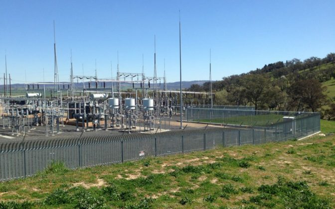 Panorama Substation Oil Containment