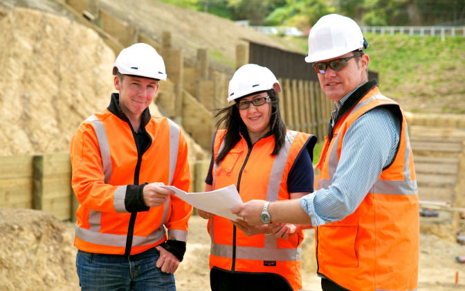 Civil Engineers On Site