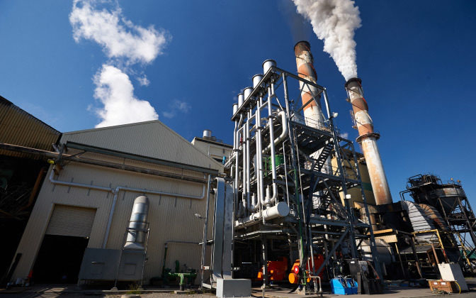 Racecourse Mill Cogeneration Power Plant Mackay