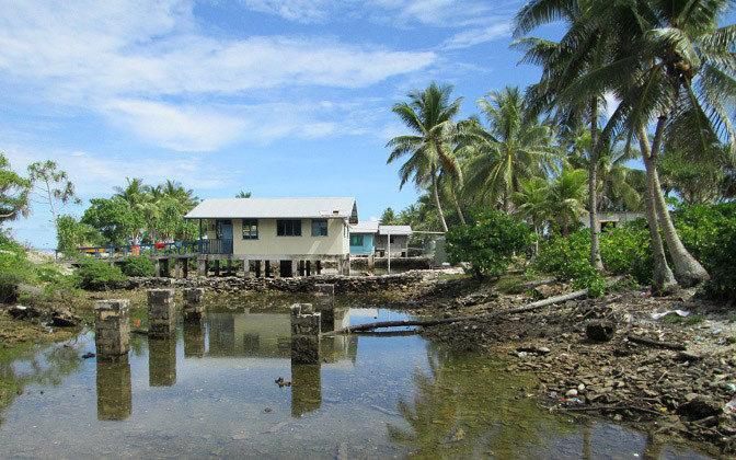 Tuvalu Borrow Pits