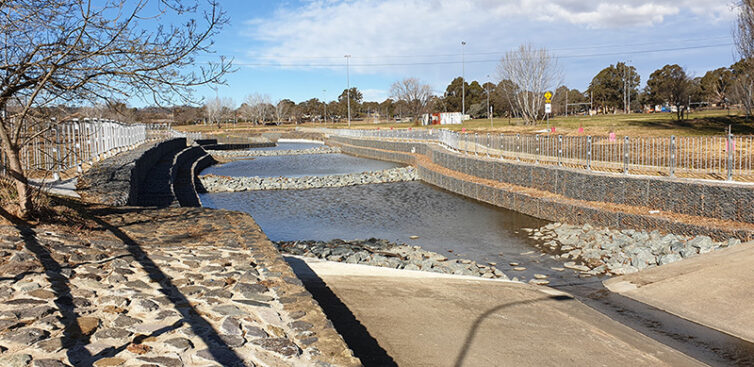 Improving Canberra's long-term water quality | Calibre Group