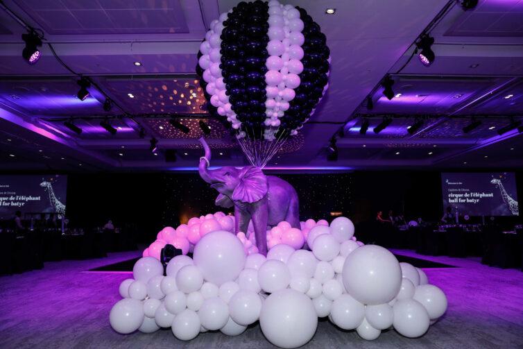 Cirque de l'elephant Ball for batyr | Calibre Group