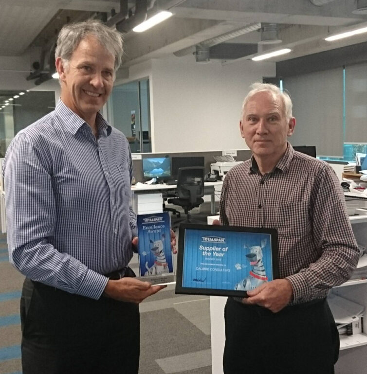 Totalspan Supplier of the Year 2019 | Calibre Group