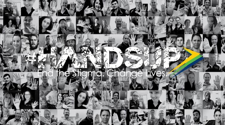#HANDSUP Mental Health Awareness