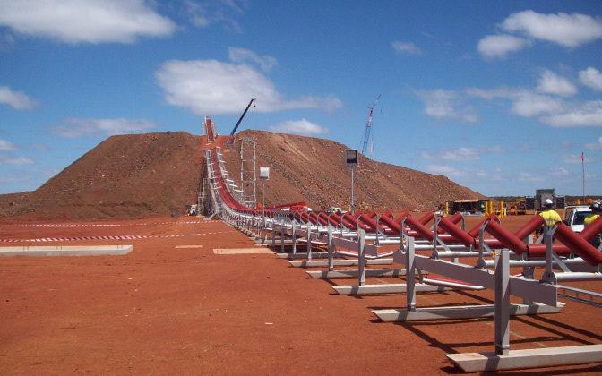 Karara Dry Tailings Stacking Facility