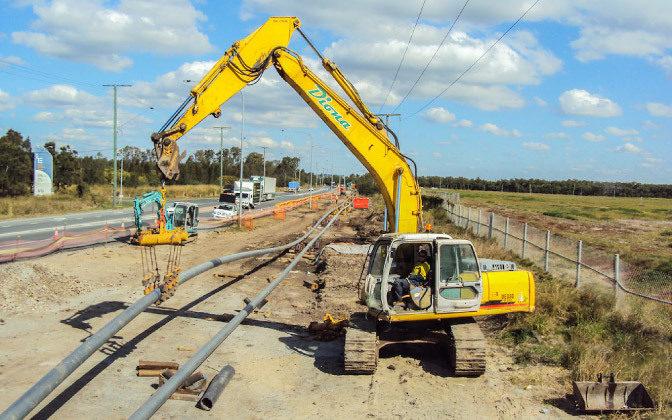 Diona Pipeline Installation