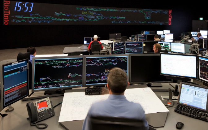 Rio Tinto Remote Operations Centre