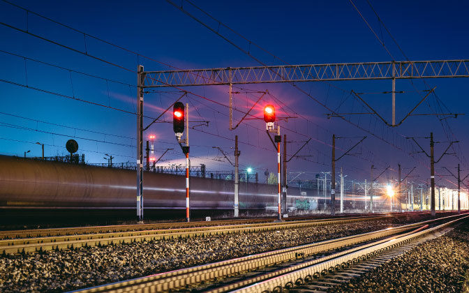 Rail Tracks And Signalling