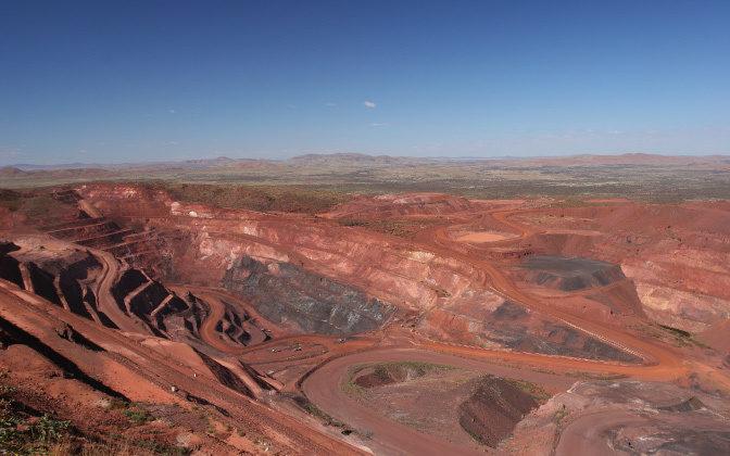 Pilbara Iron Ore Mine