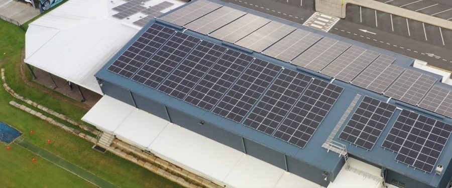 Assisi solar aerial with inverter
