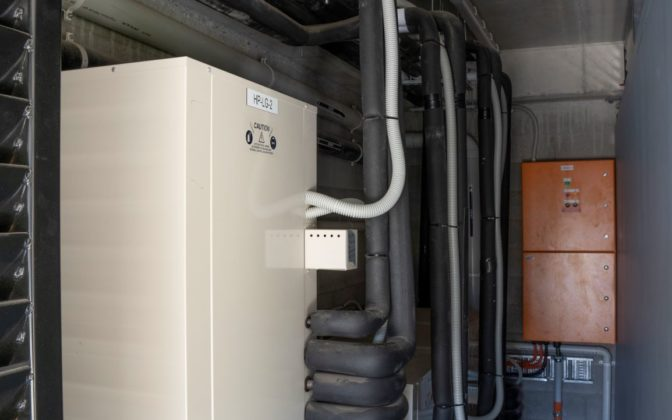 Assisi heat pump cupboard