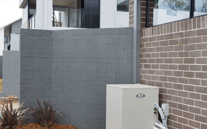 Fairwater heat pump